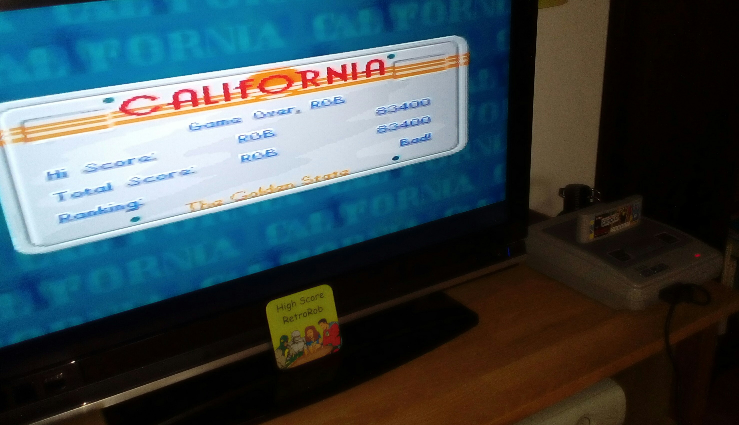 California Games II [Final Score After All Events] 83,400 points