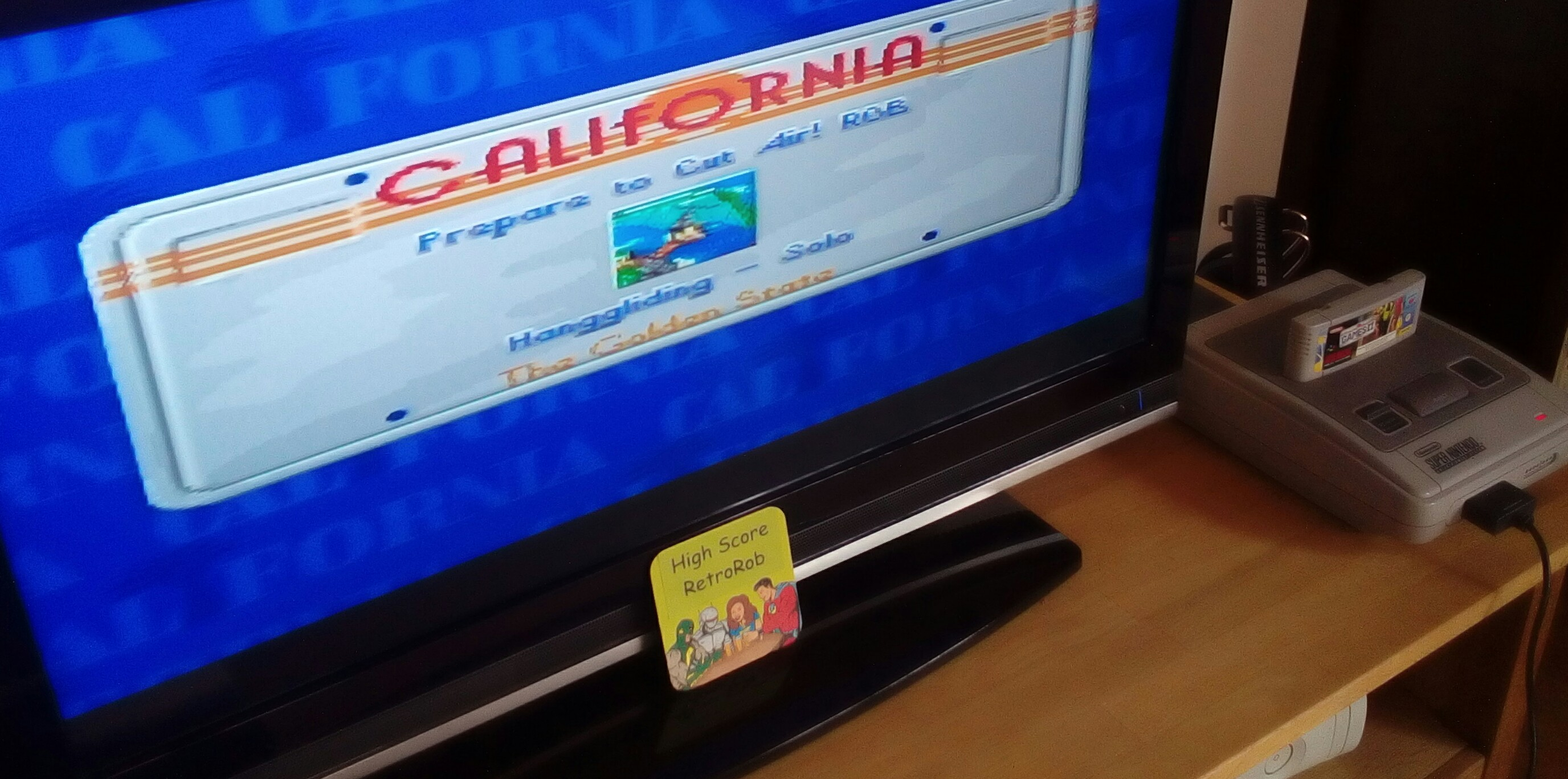 California Games II [Hang Gliding] 19,200 points