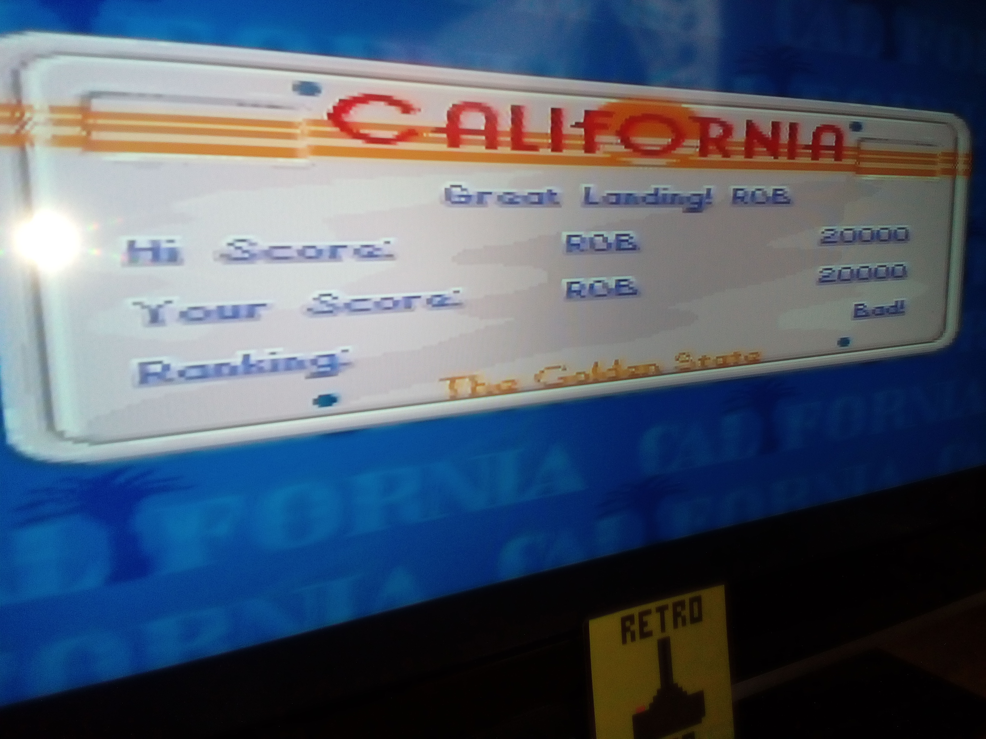 RetroRob: California Games II [Hang Gliding] (SNES/Super Famicom) 20,000 points on 2019-03-10 03:44:53