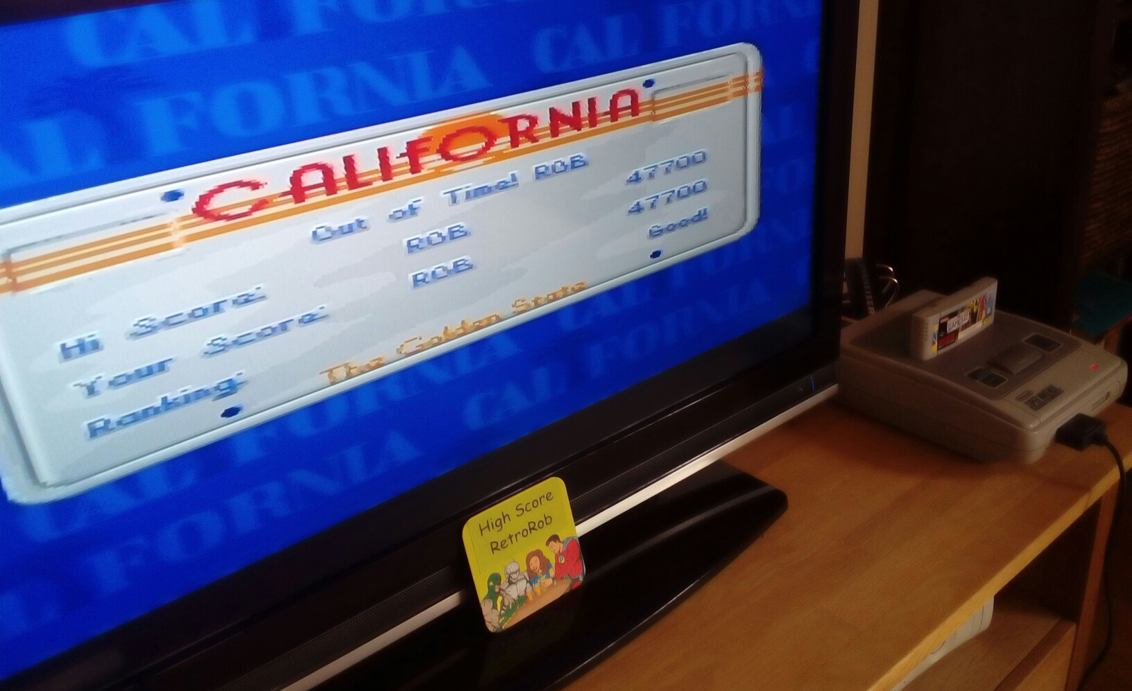 RetroRob: California Games II [Jet Surfing] (SNES/Super Famicom) 47,700 points on 2018-06-10 04:33:03