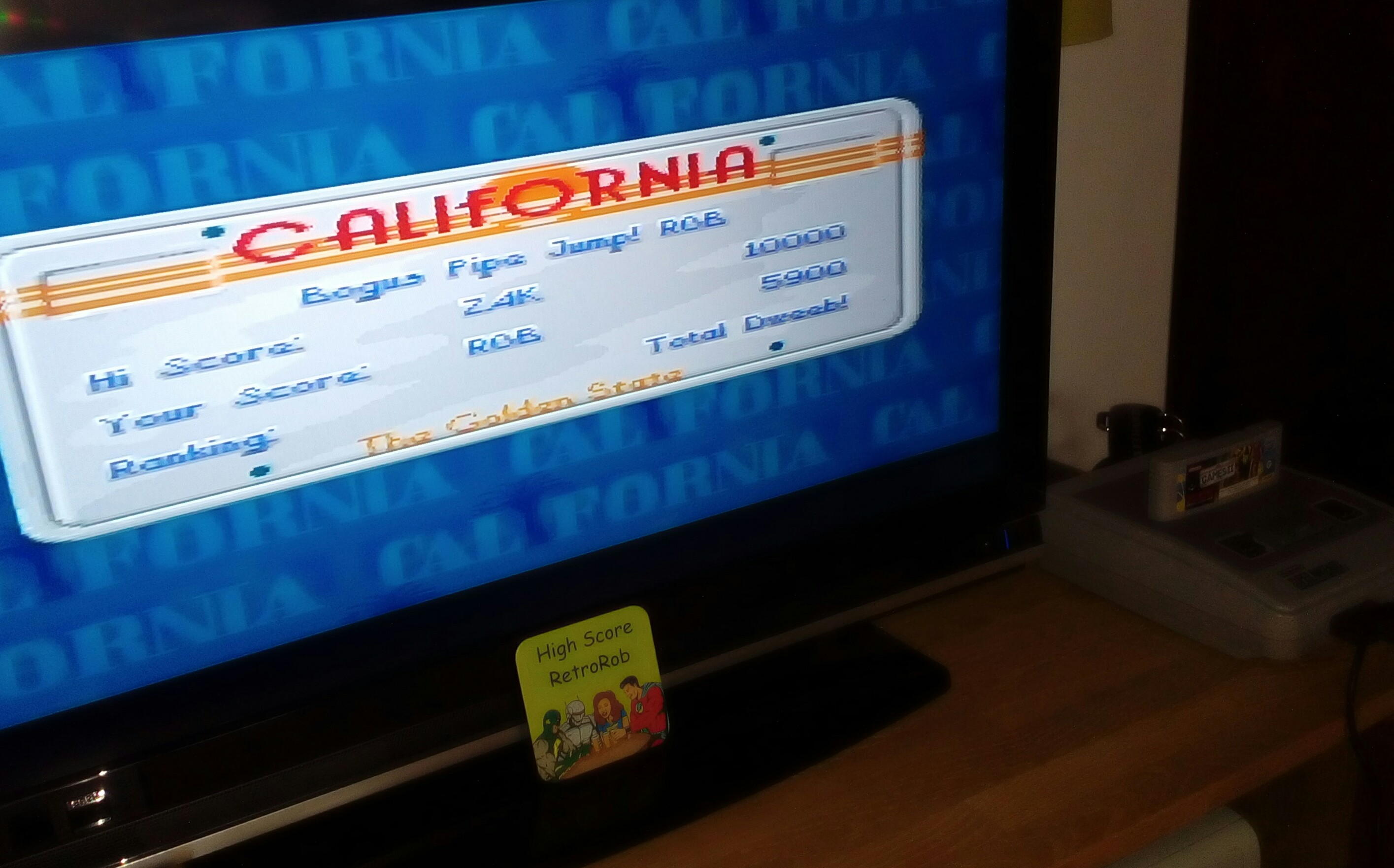 California Games II [Skateboarding] 5,900 points