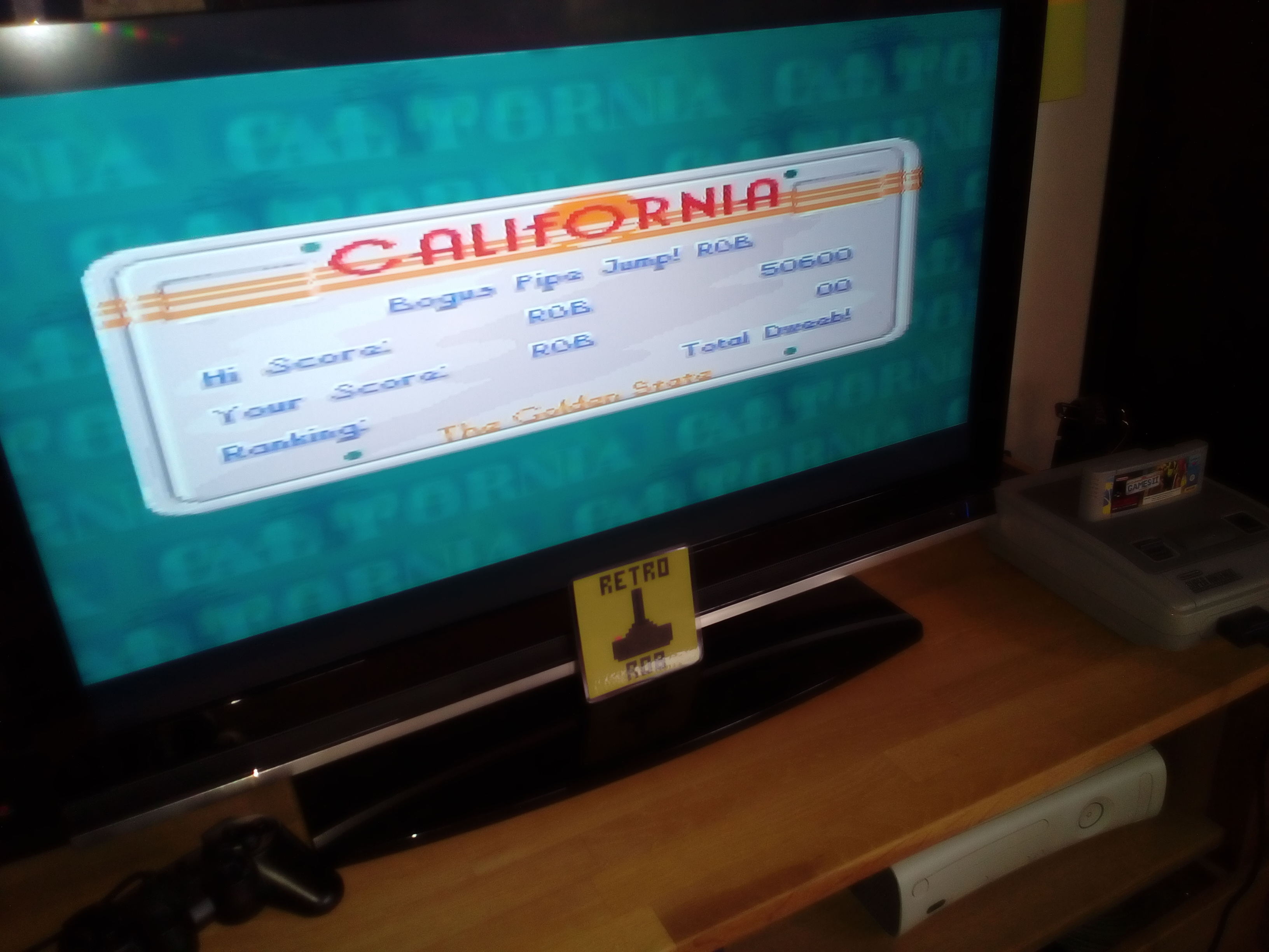 RetroRob: California Games II [Skateboarding] (SNES/Super Famicom) 50,600 points on 2019-03-09 03:59:39