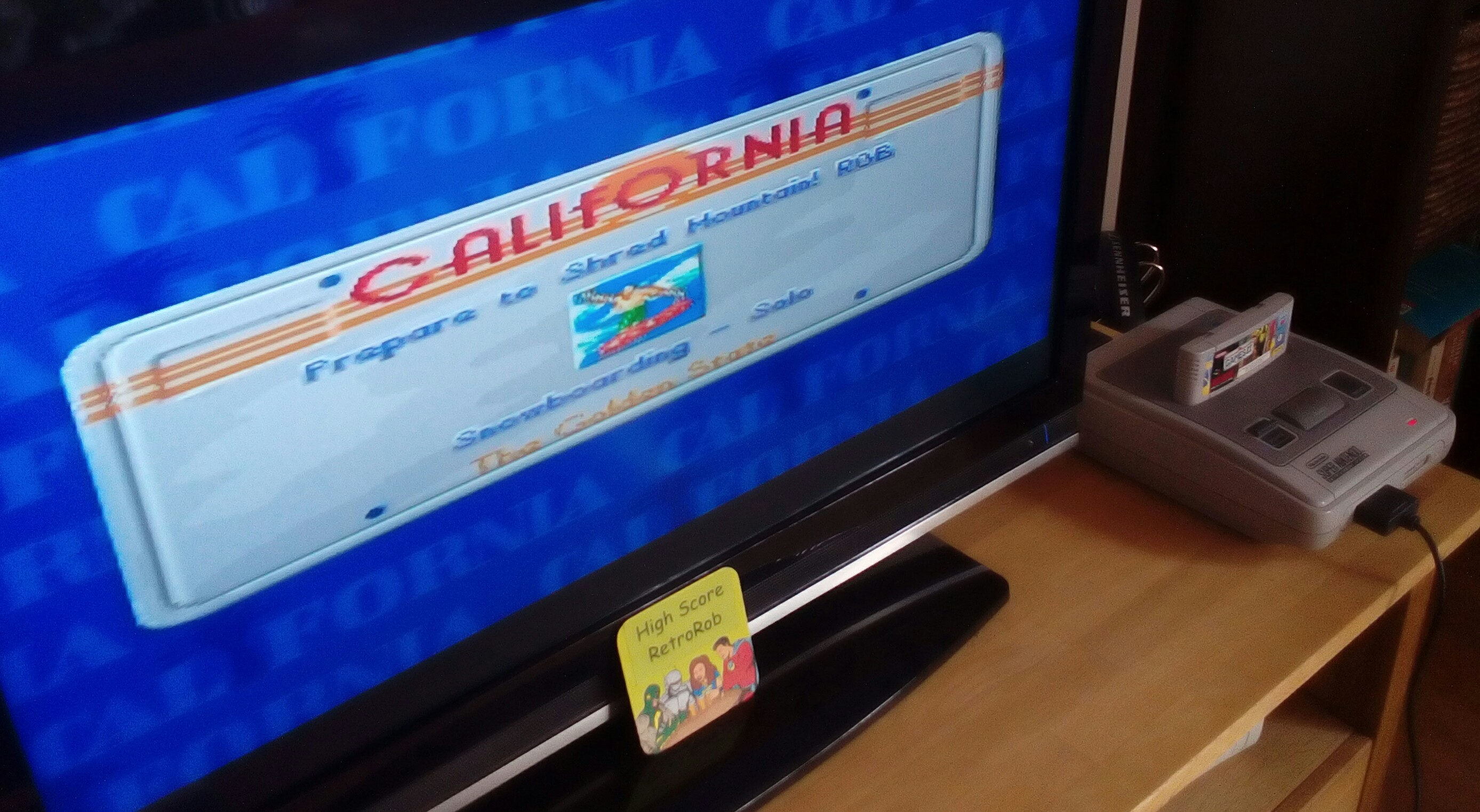 California Games II [Snowboarding] 16,000 points