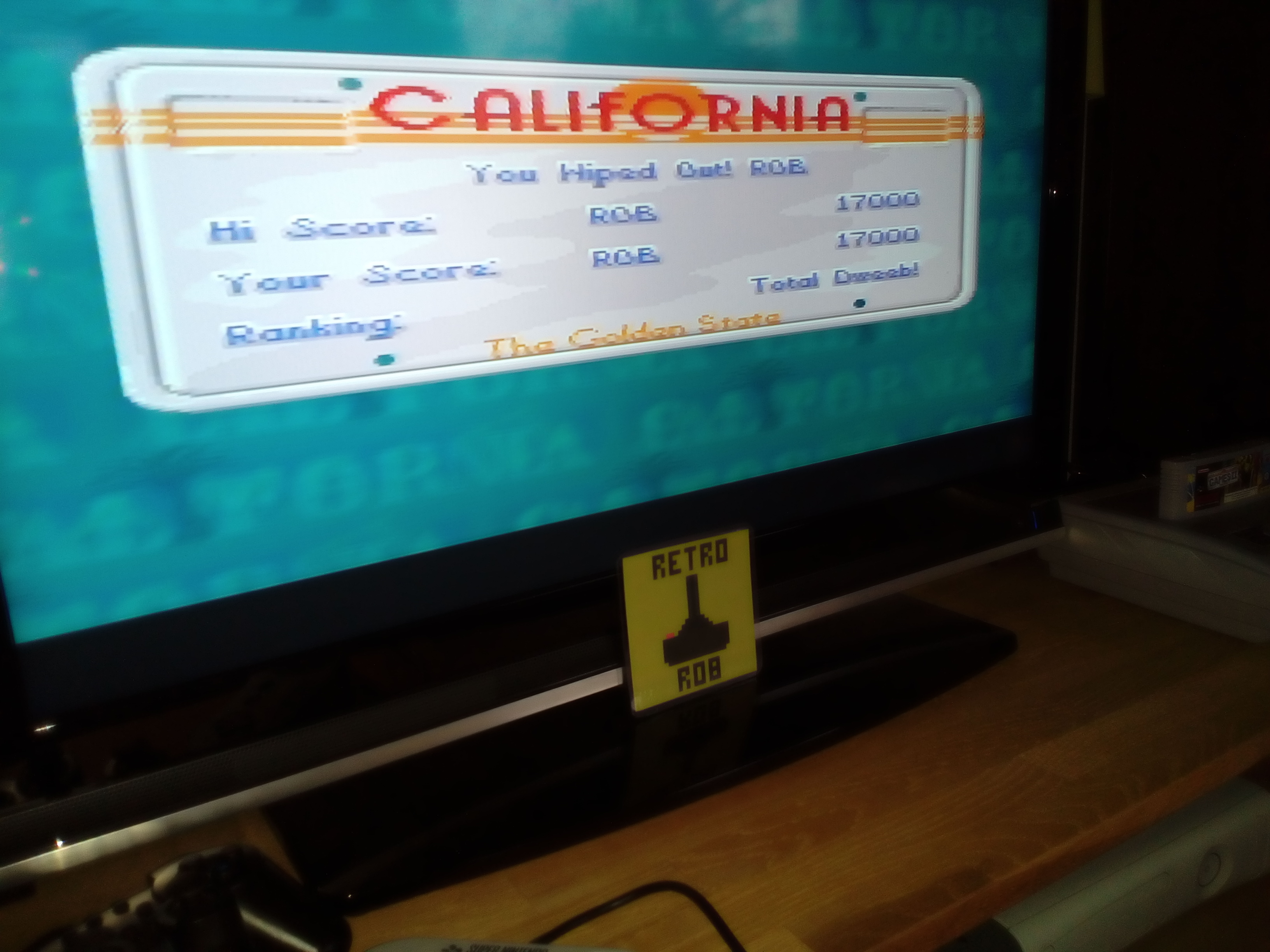 RetroRob: California Games II [Snowboarding] (SNES/Super Famicom) 17,000 points on 2019-03-10 08:29:08