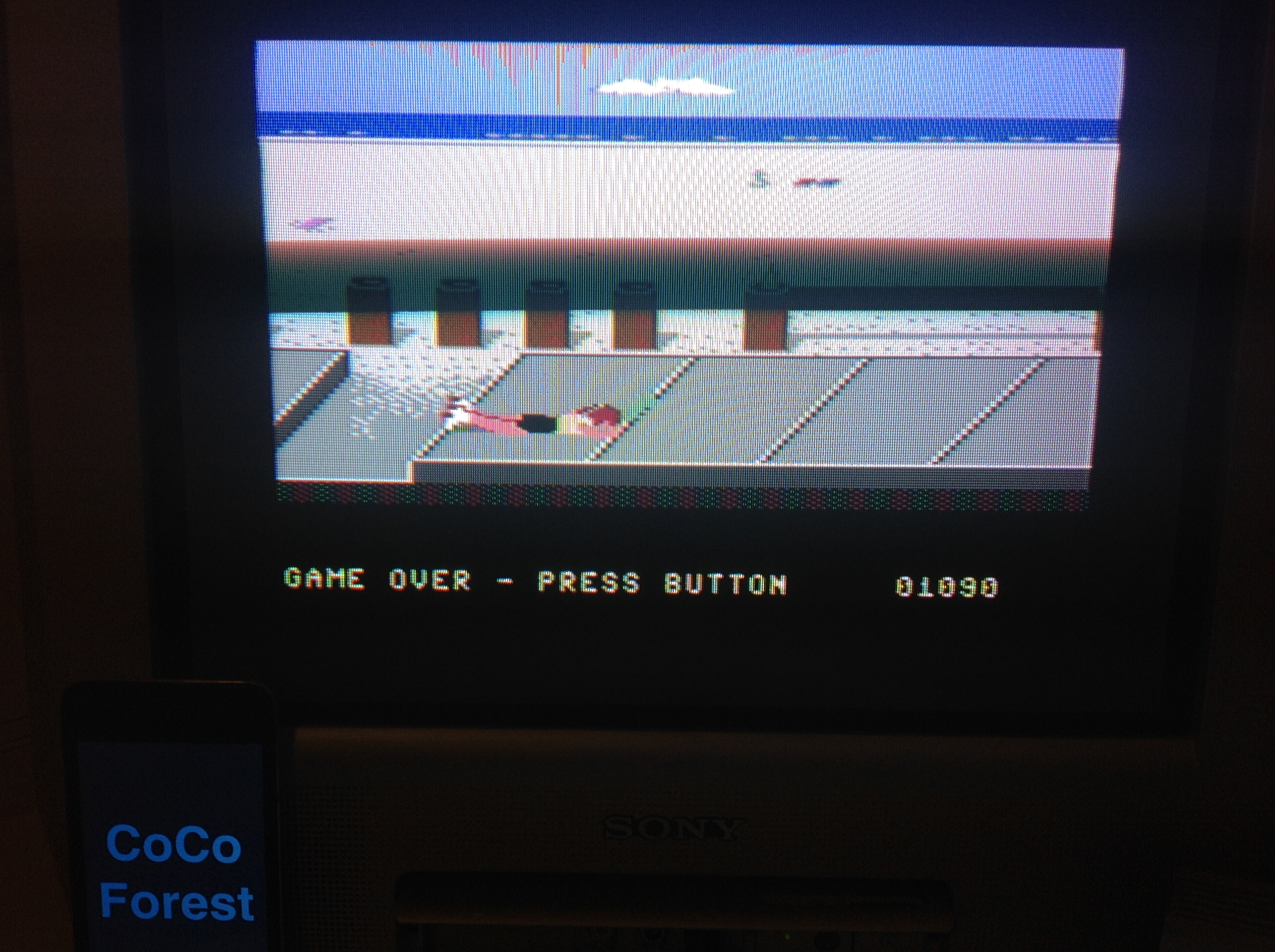 CoCoForest: California Games: Skating (Commodore 64) 1,090 points on 2015-12-07 12:35:02