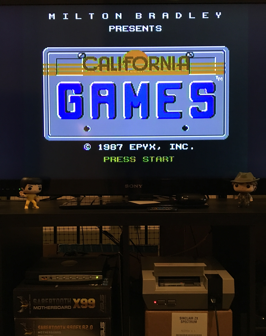 ILLSeaBass: California Games: Skating (NES/Famicom) 3,070 points on 2017-05-09 00:24:50