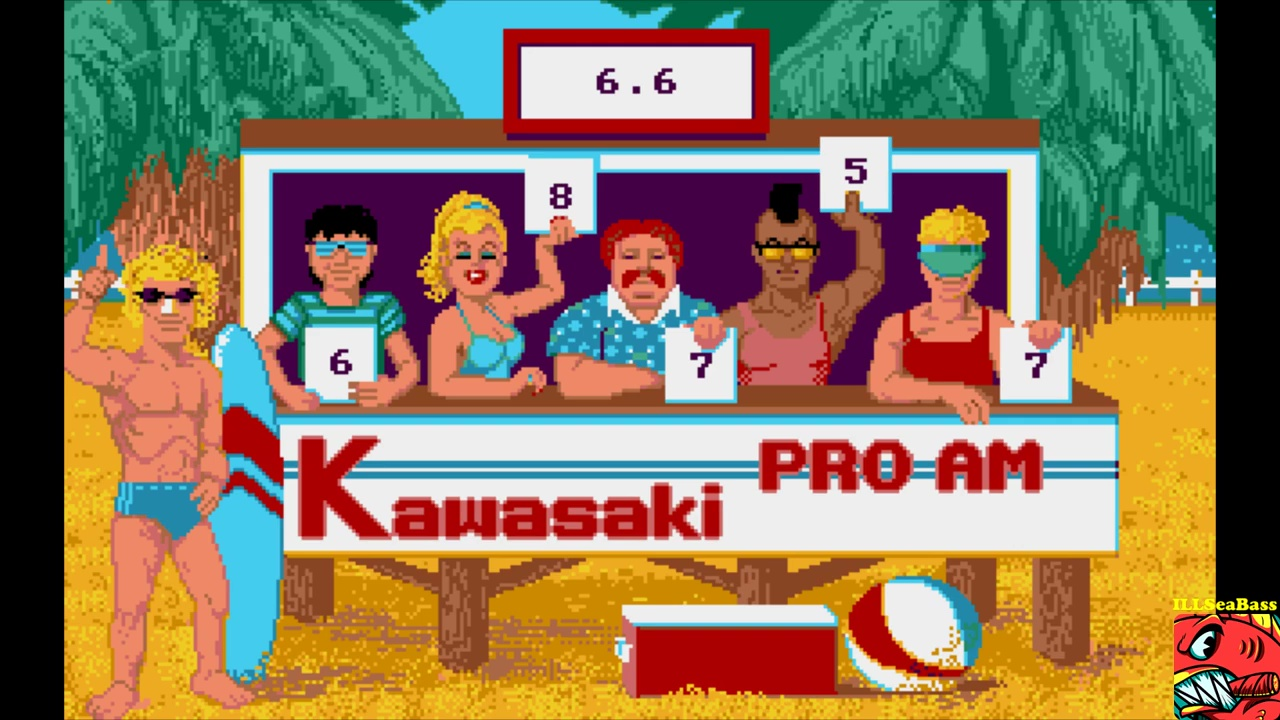 ILLSeaBass: California Games: Surfing (Amiga Emulated) 66 points on 2017-10-28 20:46:47