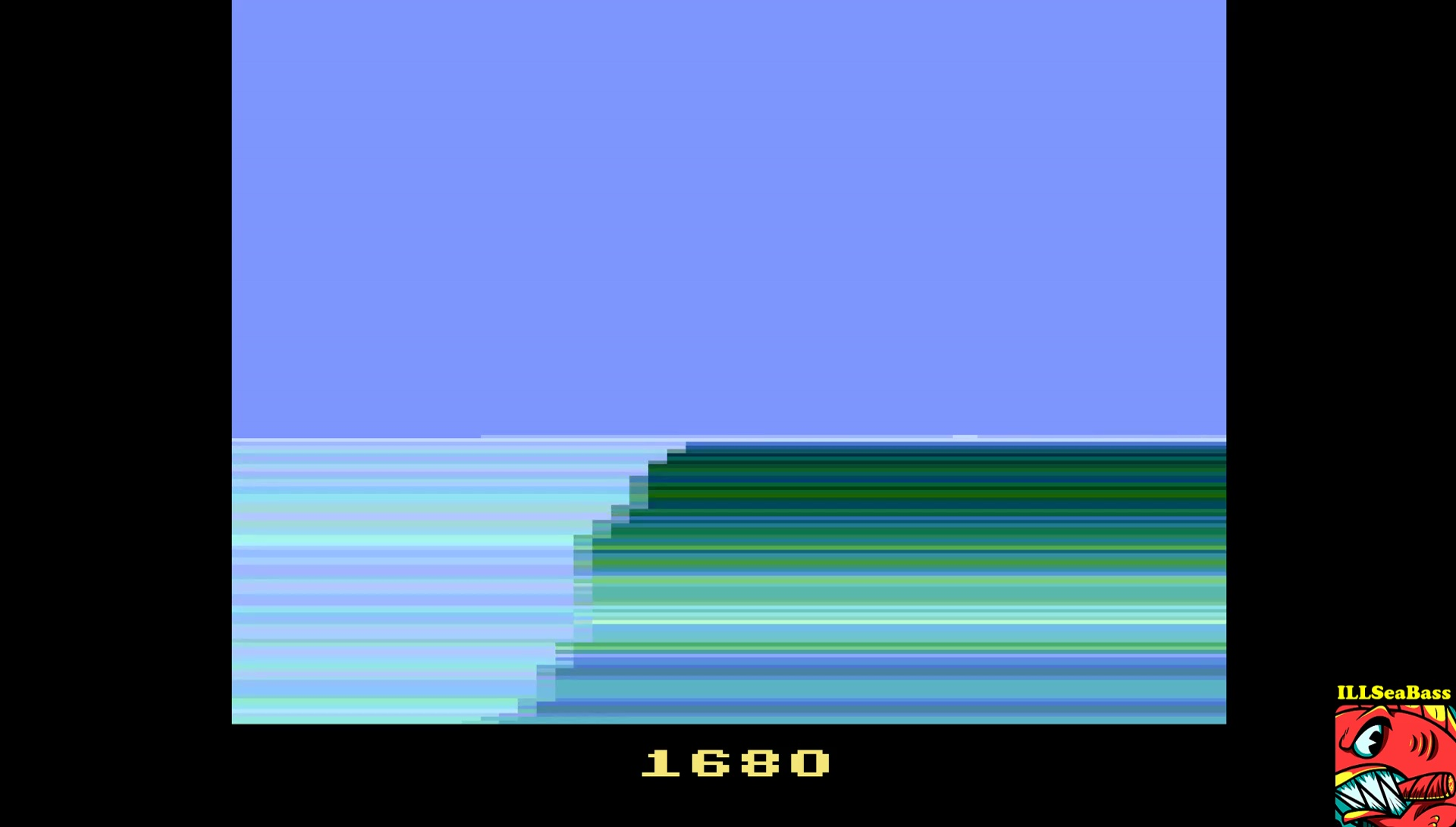 ILLSeaBass: California Games: Surfing (Atari 2600 Emulated) 1,680 points on 2017-04-01 17:40:41