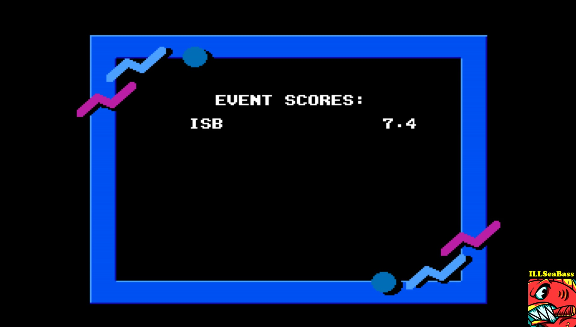 ILLSeaBass: California Games: Surfing (NES/Famicom Emulated) 74 points on 2017-03-27 21:22:58