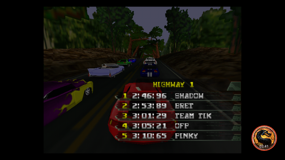 omargeddon: California Speed: Single [Highway 1] (N64 Emulated) 0:03:05.21 points on 2019-03-17 16:57:47