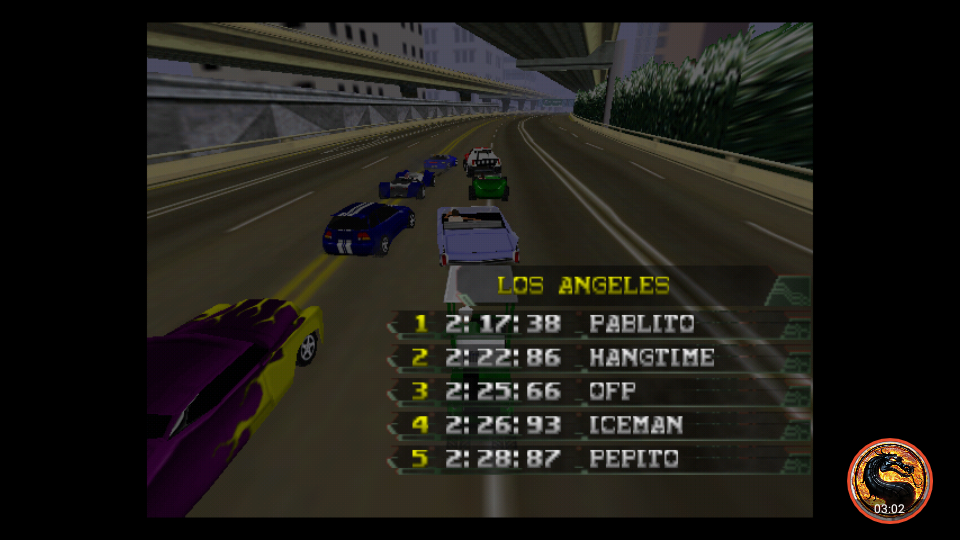 omargeddon: California Speed: Single [Los Angeles] (N64 Emulated) 0:02:25.66 points on 2019-03-17 20:17:29