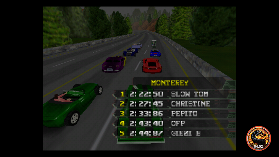 omargeddon: California Speed: Single [Monterey] (N64 Emulated) 0:02:43.4 points on 2019-03-17 16:56:28