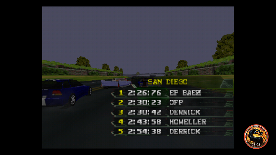 omargeddon: California Speed: Single [San Diego] (N64 Emulated) 0:02:30.23 points on 2019-03-17 20:16:51