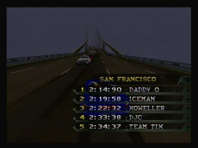 derek: California Speed: Single [San Francisco] (N64) 0:02:33.38 points on 2016-04-22 15:56:06