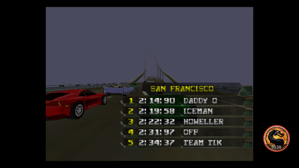 omargeddon: California Speed: Single [San Francisco] (N64 Emulated) 0:02:31.97 points on 2019-03-18 06:53:07