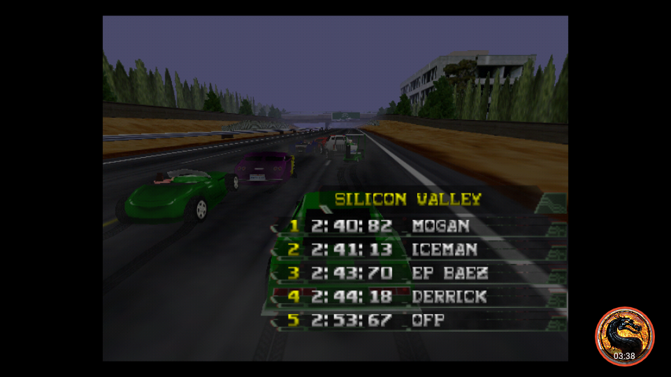 omargeddon: California Speed: Single [Silicon Valley] (N64 Emulated) 0:02:53.67 points on 2019-03-17 16:57:15
