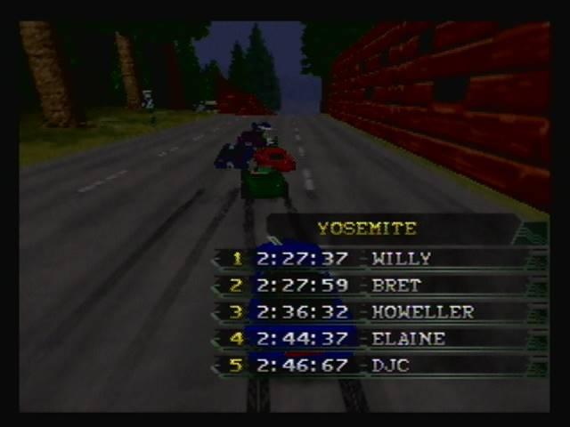 derek: California Speed: Single [Yosemite] (N64) 0:02:46.67 points on 2016-05-02 19:34:28