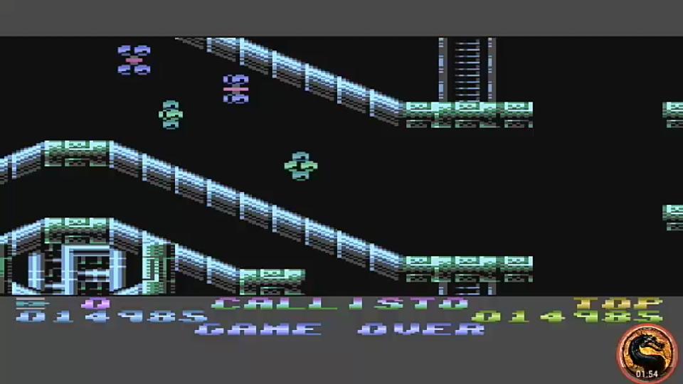 omargeddon: Callisto (Atari 400/800/XL/XE Emulated) 14,985 points on 2019-06-09 20:55:35