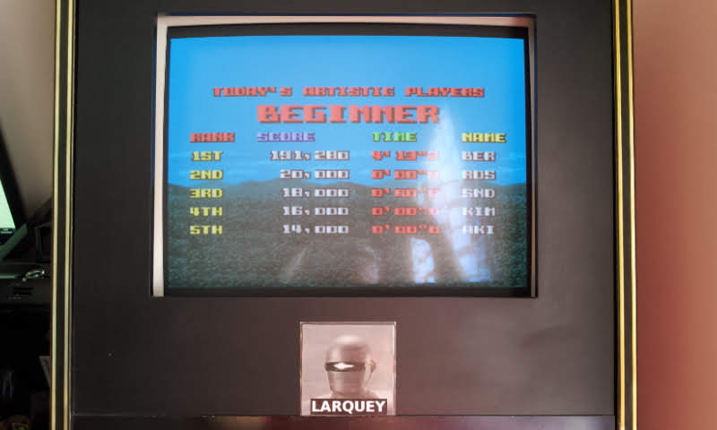Larquey: Cameltry [Beginner] (SNES/Super Famicom Emulated) 191,280 points on 2018-05-20 06:57:15