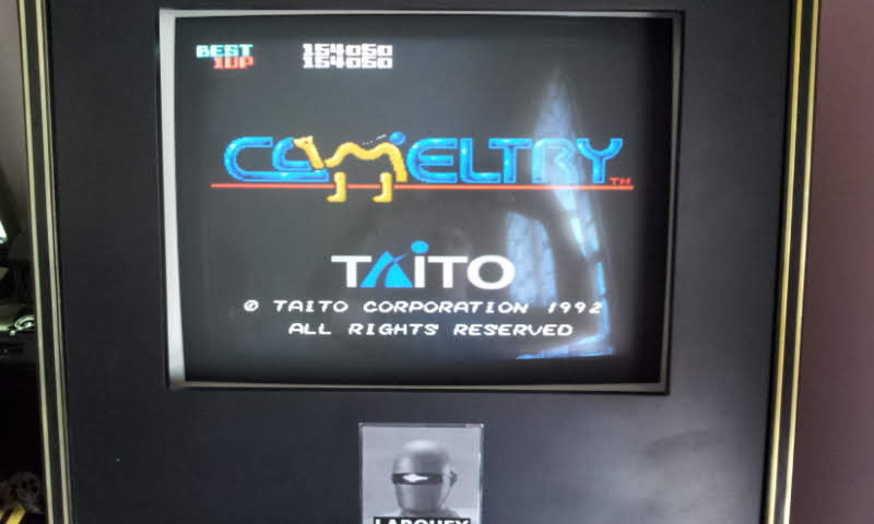 Larquey: Cameltry [Expert] (SNES/Super Famicom Emulated) 154,050 points on 2018-05-20 07:46:02