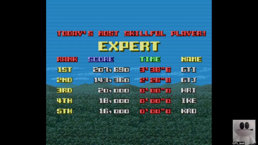 GTibel: Cameltry [Expert] (SNES/Super Famicom Emulated) 207,690 points on 2019-08-22 10:33:34