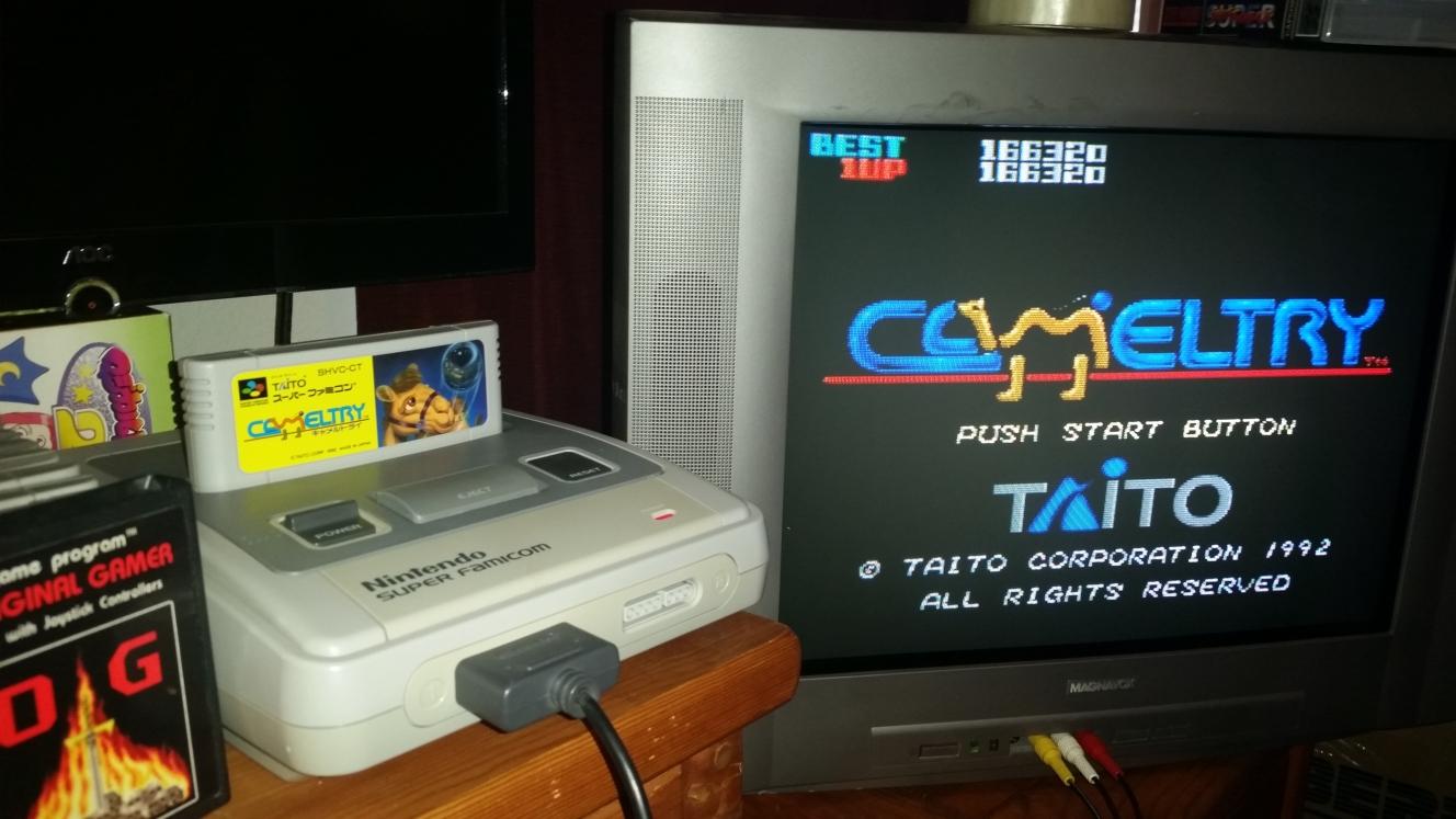 OriginalGamer: Cameltry (SNES/Super Famicom) 166,320 points on 2016-06-27 21:13:36