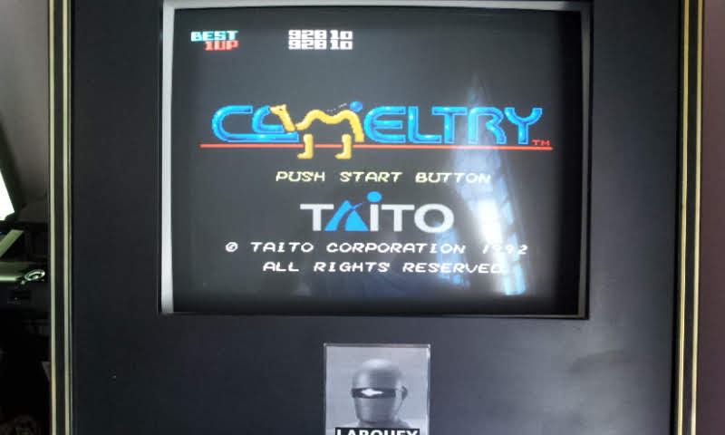 Larquey: Cameltry [Special] (SNES/Super Famicom Emulated) 92,810 points on 2018-05-20 07:39:52
