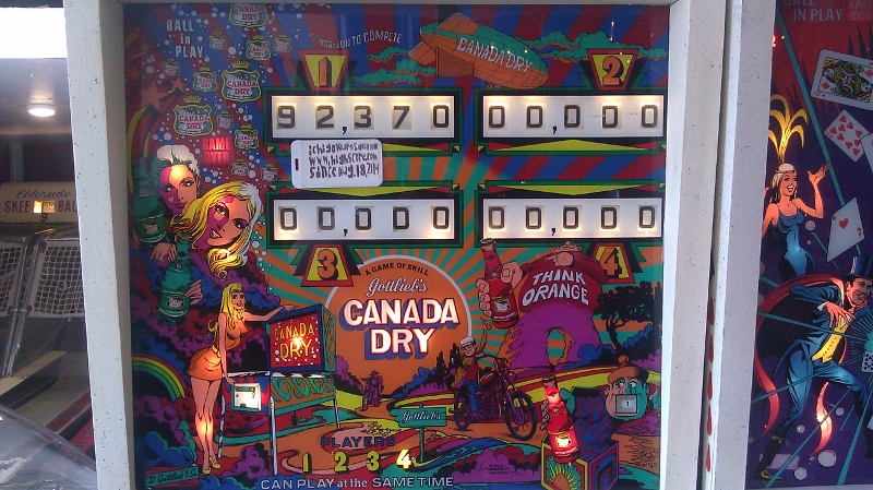 Canada Dry 92,370 points