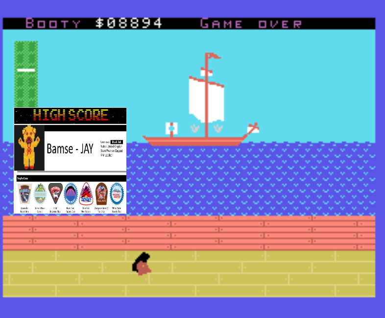 Bamse: Canadian Mini-Games 1: Get Booty (Colecovision Emulated) 8,894 points on 2019-11-17 17:09:58