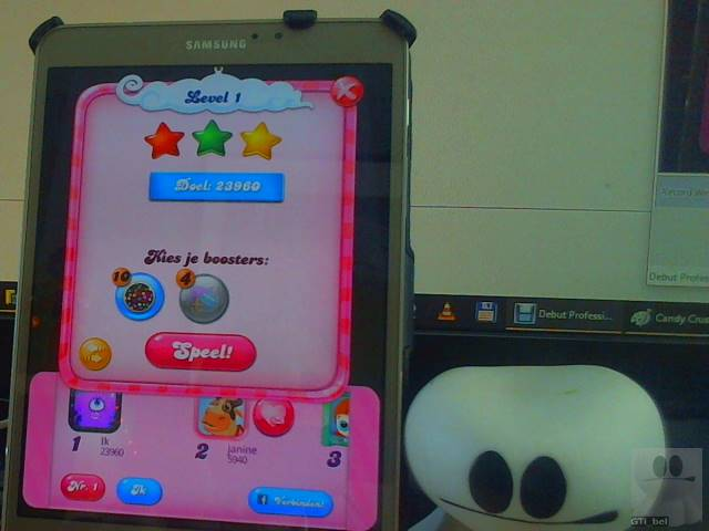 GTibel: Candy Crush Saga: Level 001 (Android) 23,960 points on 2018-02-04 04:42:08