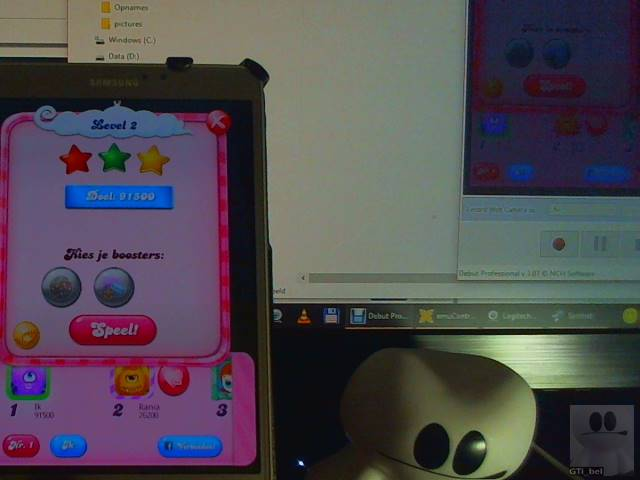 GTibel: Candy Crush Saga: Level 002 (Android) 91,500 points on 2018-01-29 01:52:46