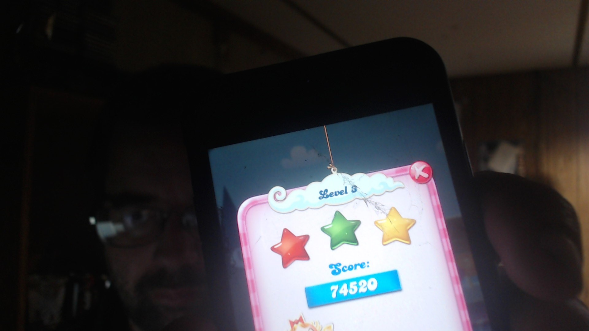 Candy Crush Saga: Level 003 74,520 points
