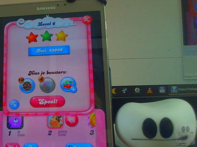 GTibel: Candy Crush Saga: Level 006 (Android) 93,060 points on 2018-02-04 04:45:25