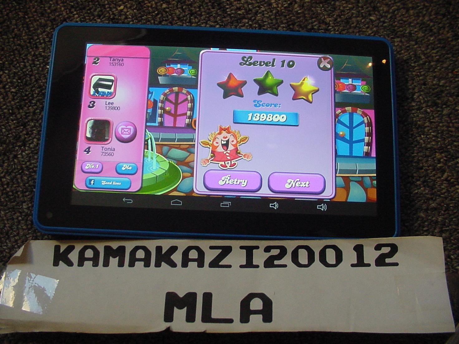 kamakazi20012: Candy Crush Saga: Level 0010 (Android) 139,800 points on 2015-07-13 08:02:41