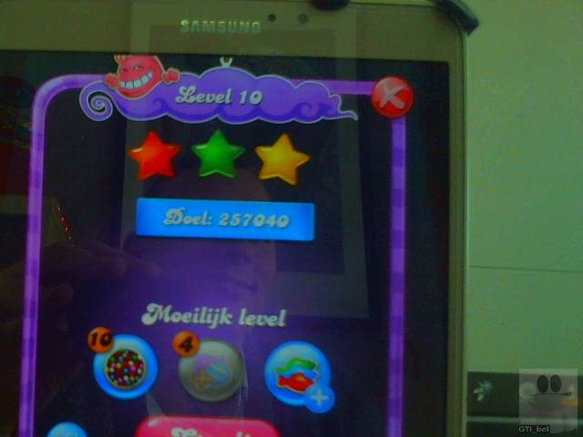 GTibel: Candy Crush Saga: Level 010 (Android) 257,040 points on 2018-02-04 04:50:43