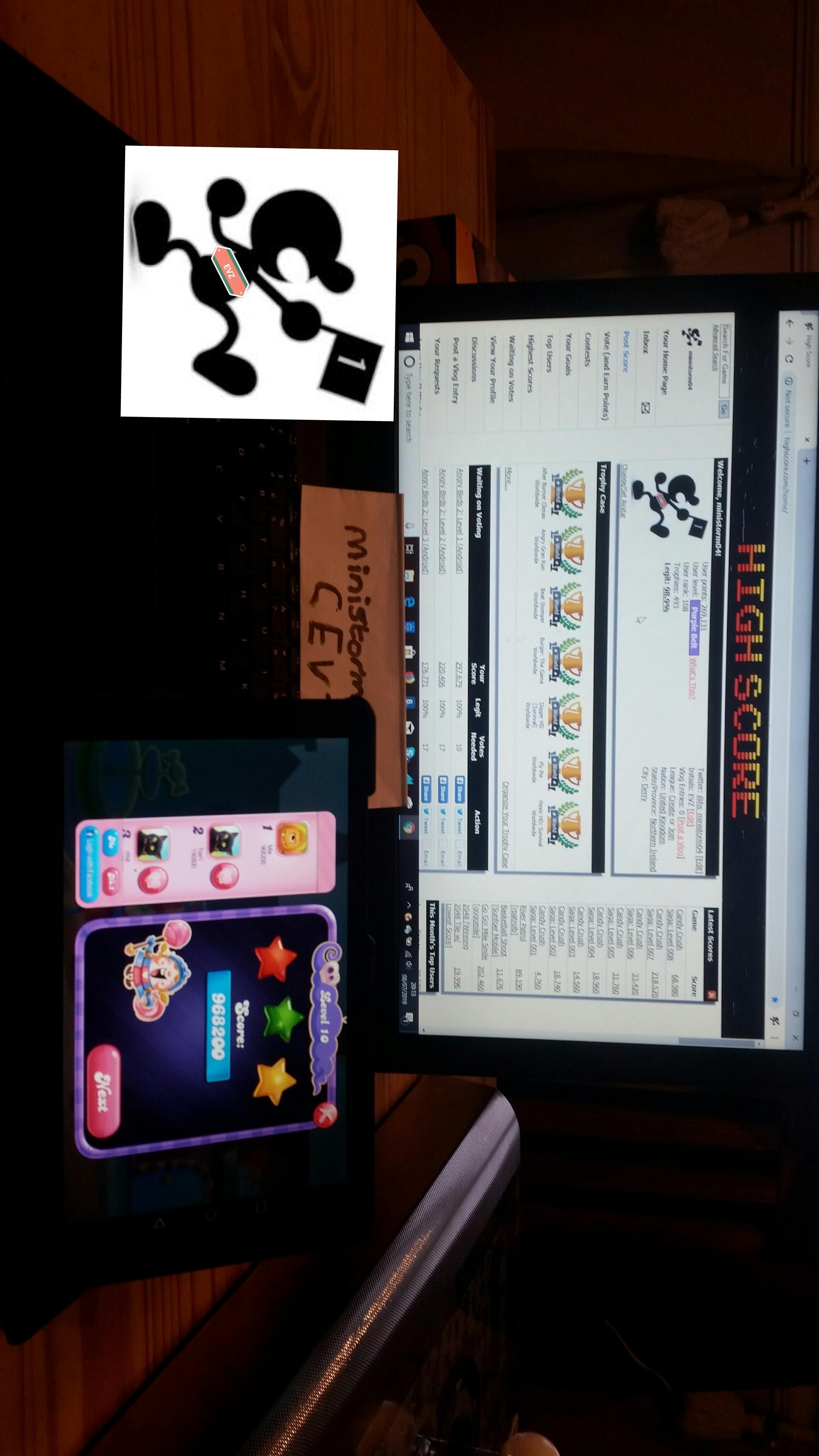 Candy Crush Saga: Level 010 968,200 points