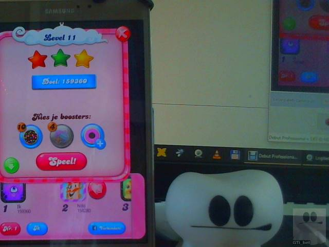 GTibel: Candy Crush Saga: Level 011 (Android) 159,360 points on 2018-02-04 04:52:29