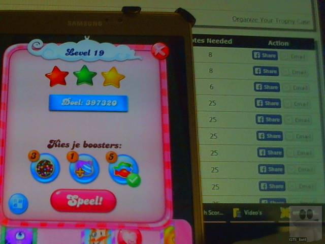 GTibel: Candy Crush Saga: Level 019 (Android) 397,320 points on 2018-02-15 03:17:50