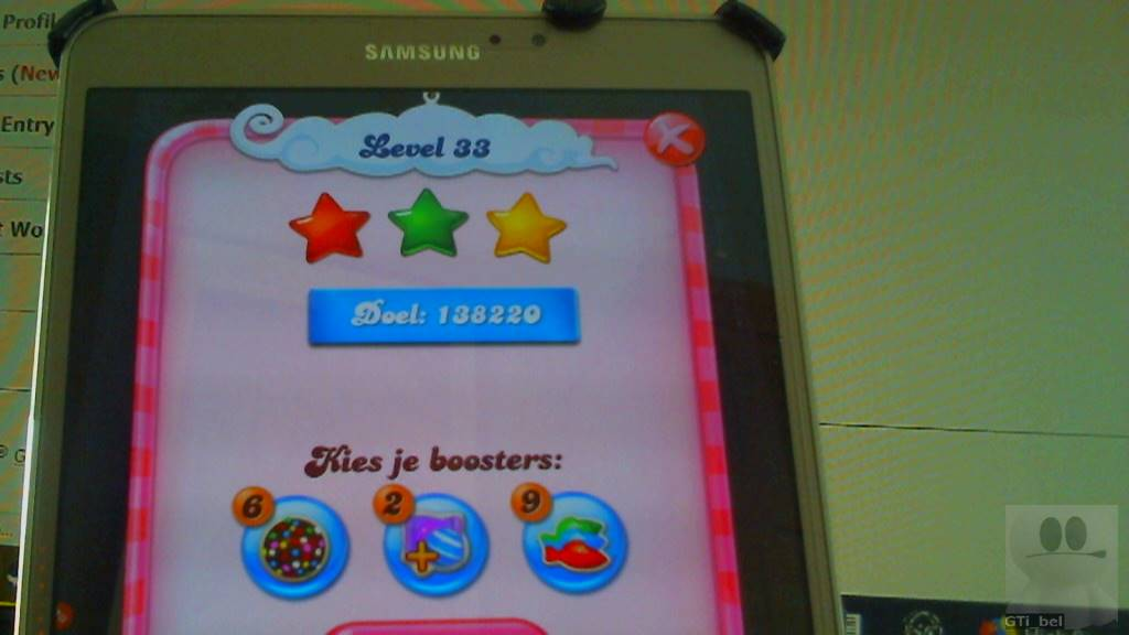 Candy Crush Saga: Level 033 138,220 points