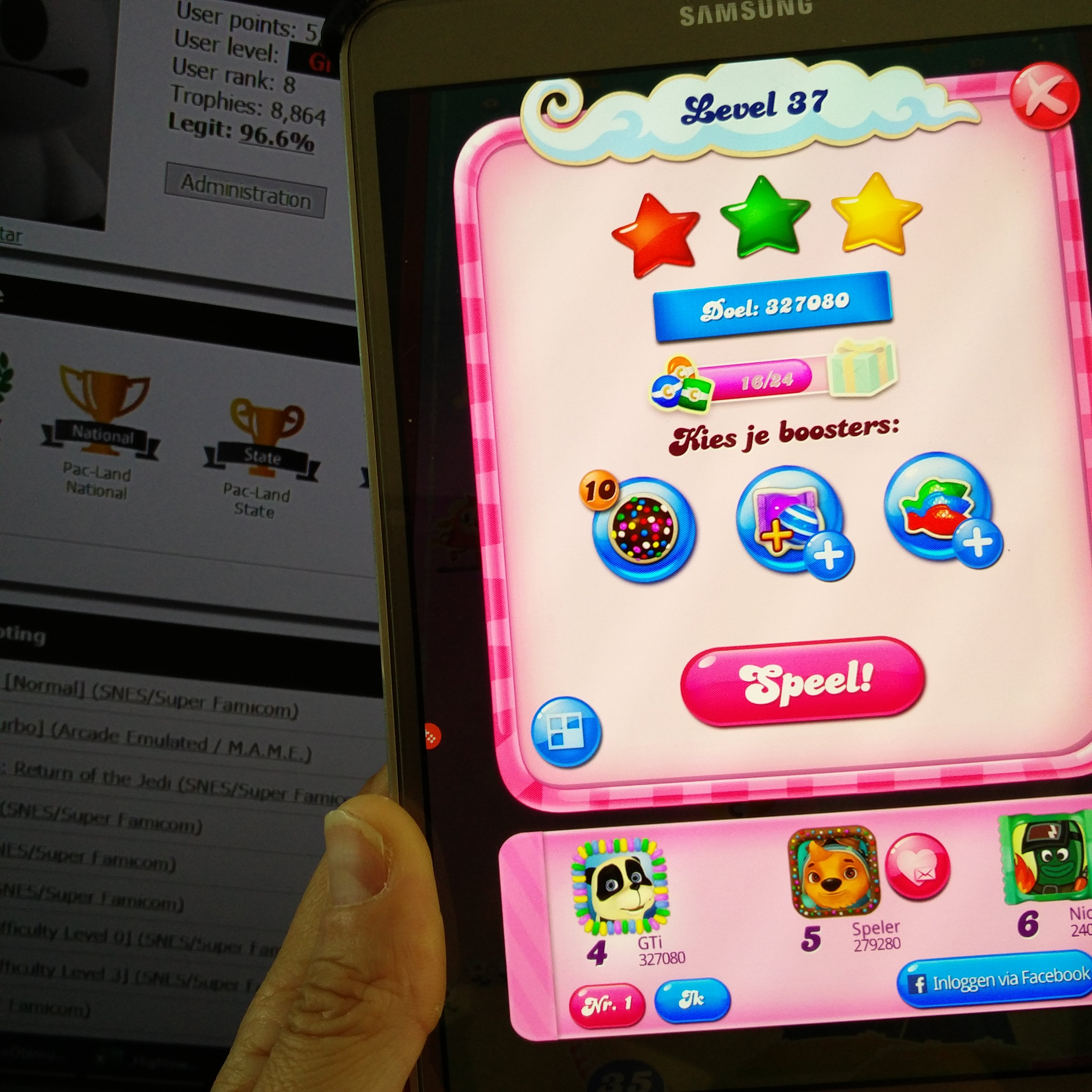 GTibel: Candy Crush Saga: Level 037 (Android) 327,080 points on 2019-08-21 05:48:36