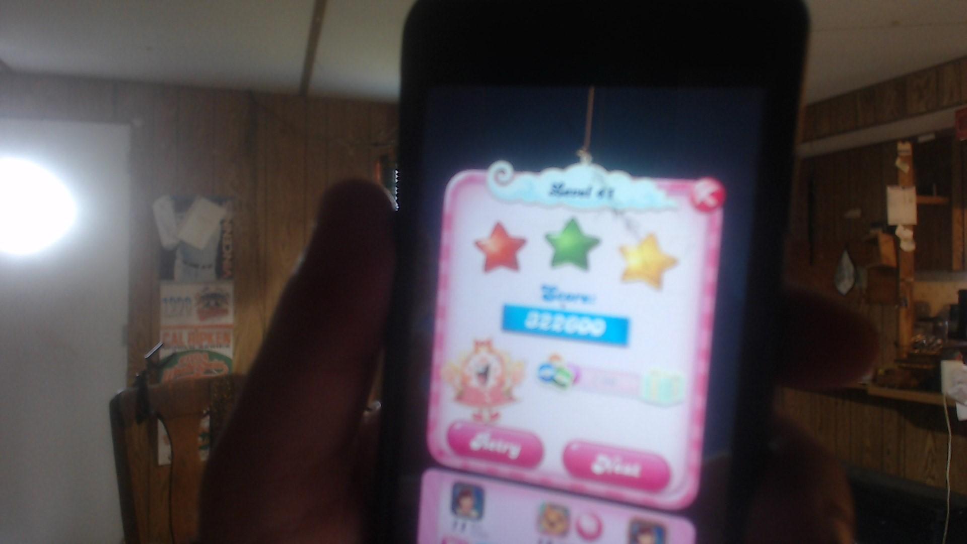 speedy4759123: Candy Crush Saga: Level 041 (iOS) 322,600 points on 2019-07-17 11:08:57
