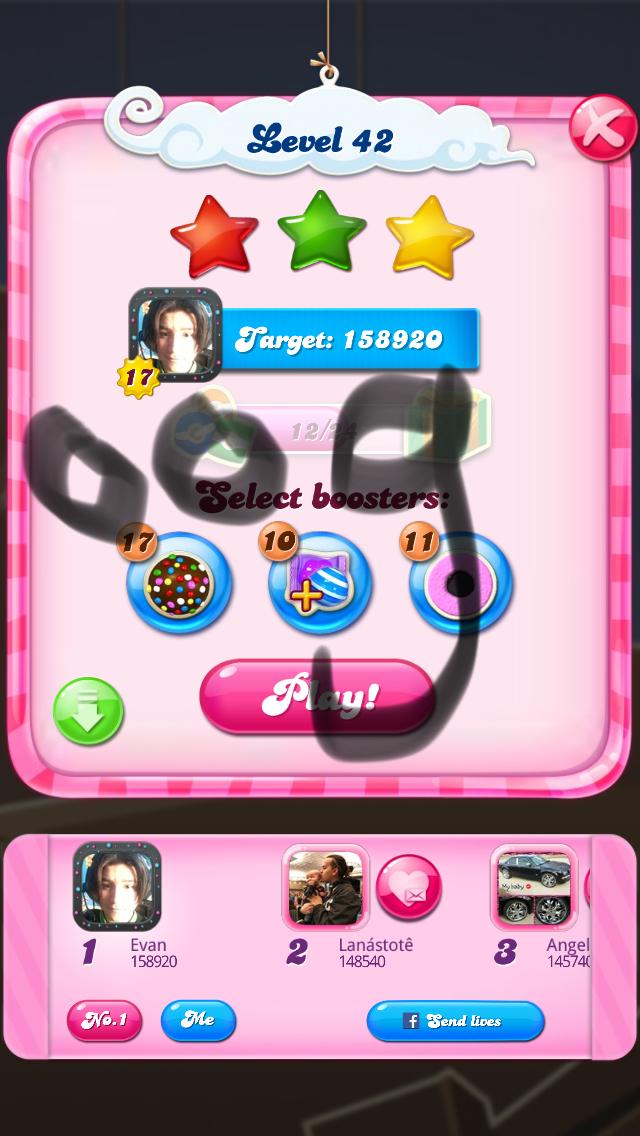 OOG: Candy Crush Saga: Level 042 (iOS) 158,920 points on 2018-03-21 12:53:12