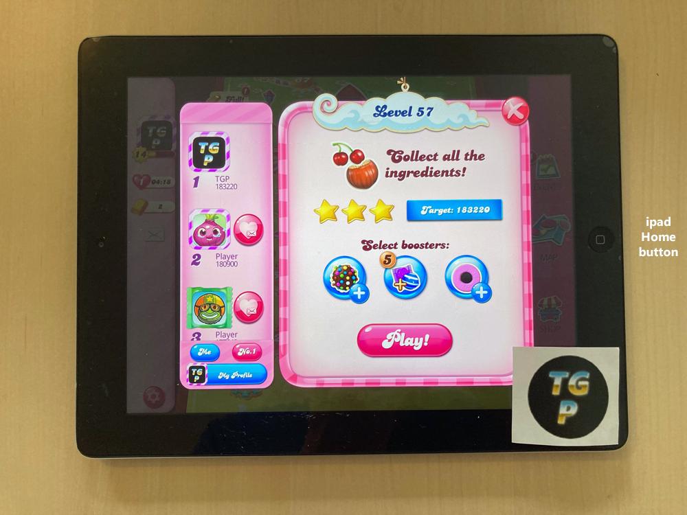 Candy Crush Saga: Level 057 183,220 points