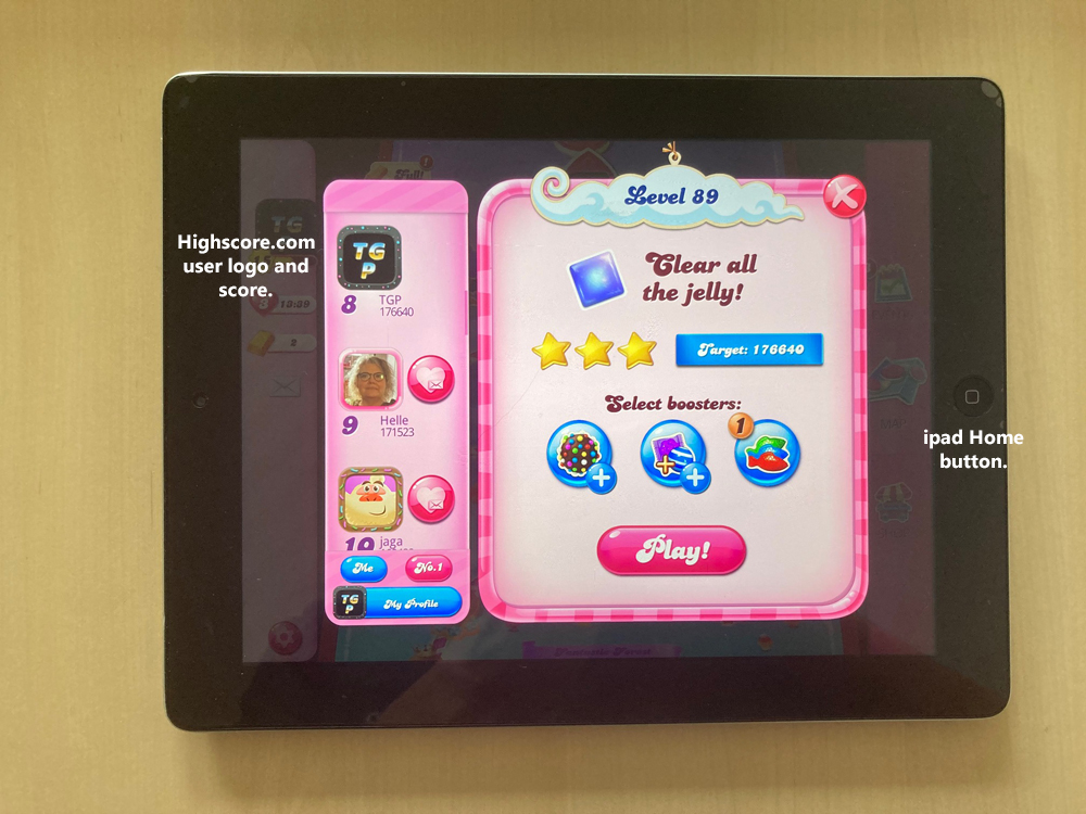 80sChips: Candy Crush Saga: Level 089 (iOS) 176,640 points on 2020-09-20 11:23:23