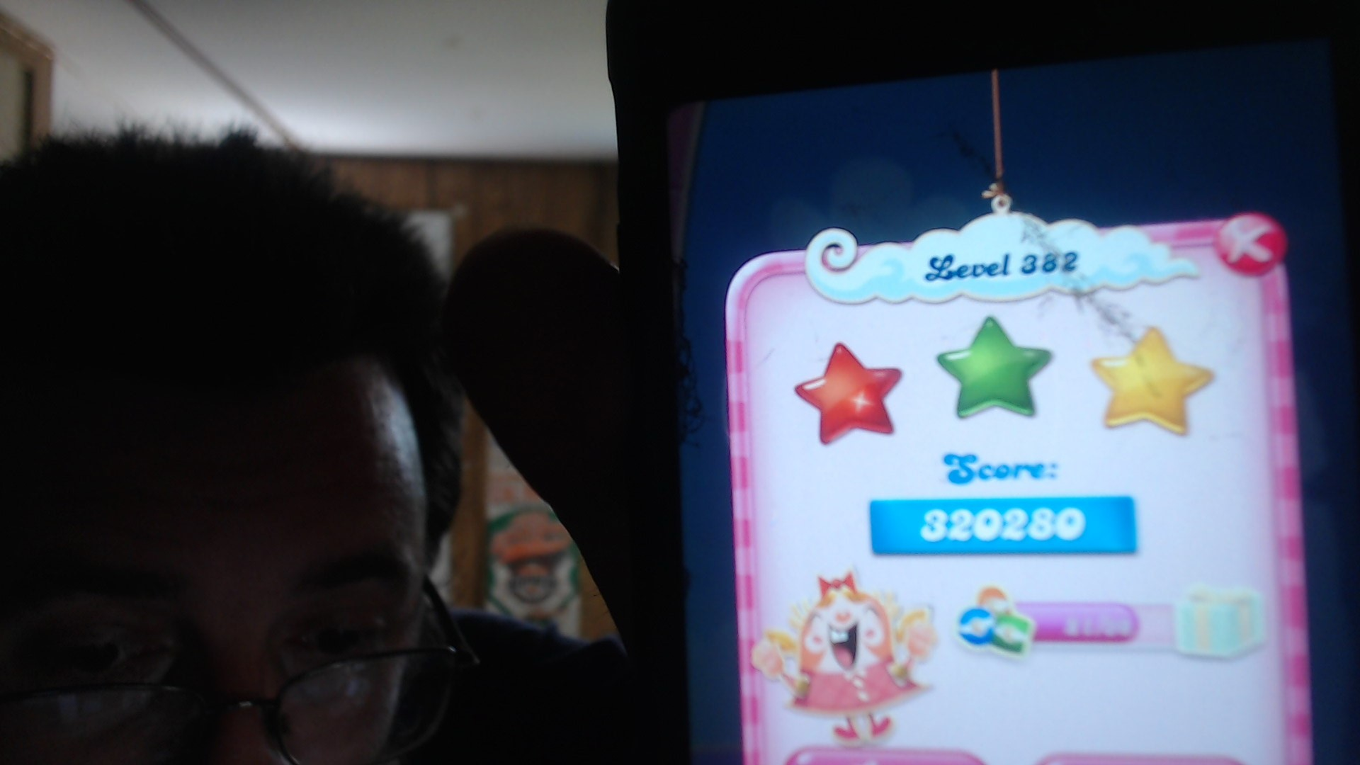 Candy Crush Saga: Level 382 320,280 points