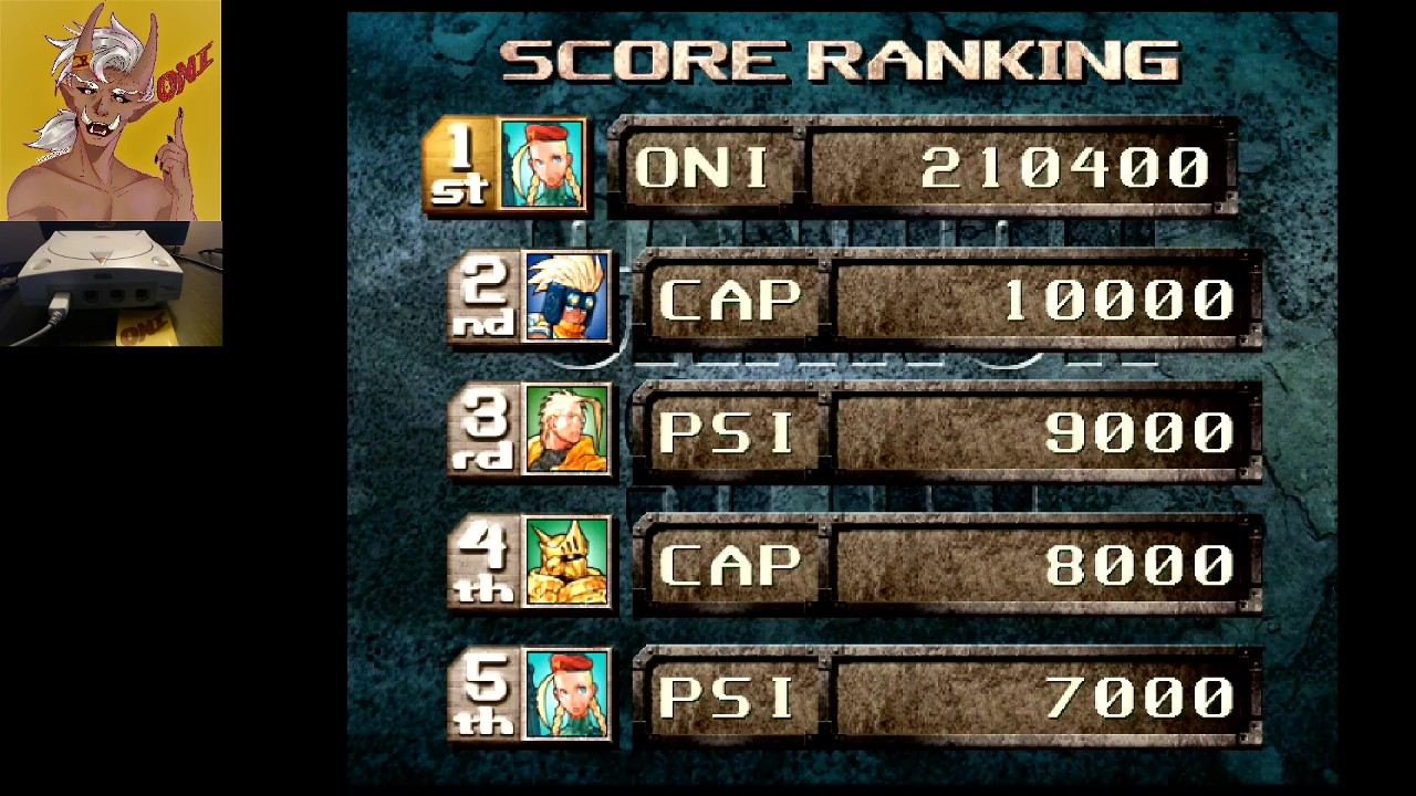 OniDensetsu: Cannon Spike (Dreamcast) 210,400 points on 2020-09-15 11:40:19