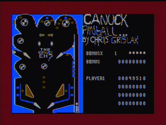 derek: Canuck Pinball (Atari 400/800/XL/XE) 49,510 points on 2016-03-08 16:41:05