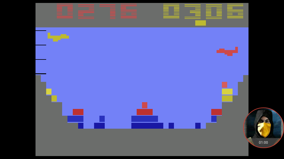 omargeddon: Canyon Bomber (Atari 2600 Emulated Expert/A Mode) 306 points on 2018-02-28 16:23:11