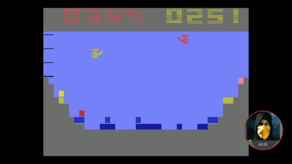 omargeddon: Canyon Bomber (Atari 2600 Emulated Novice/B Mode) 251 points on 2018-02-28 16:00:40