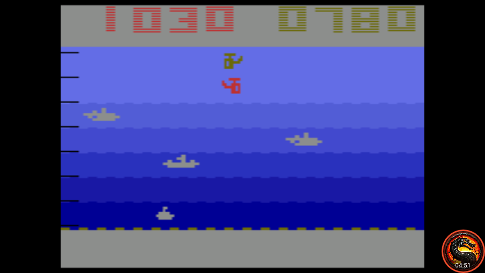 omargeddon: Canyon Bomber: Game 7 (Atari 2600 Emulated Expert/A Mode) 780 points on 2020-08-31 10:36:12